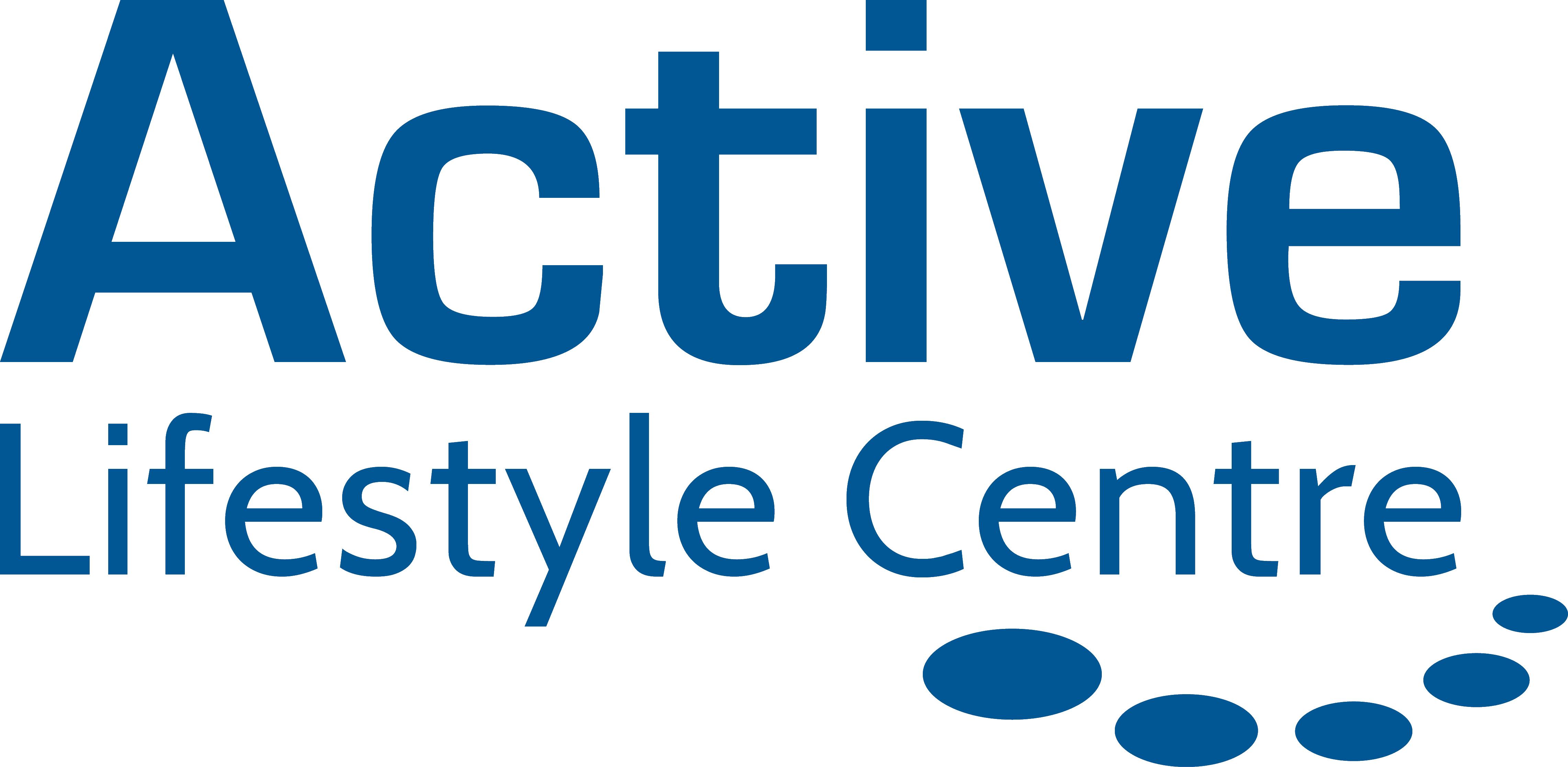 Active Lifestyle Logo Blue